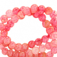 Glaskralen 6 mm gemêleerd Azalea pink 67369 50 st.