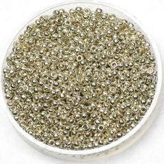 Miyuki  11/0 - galvanized silver 1051