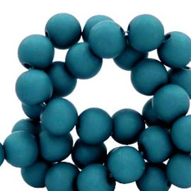 6 mm kralen van acryl Snorkel Blue 69099 12 gram (ca.100 st.)