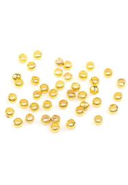 Knijpkraaltjes goud 2 mm