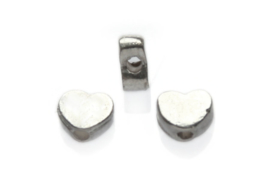 Hartvormige kraal 5 stuks
