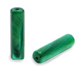 Schelp kralen tube Eden green 66818