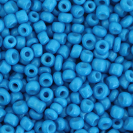 Rocailles 8/0 (3mm) Palace blue, 10 gram 68295