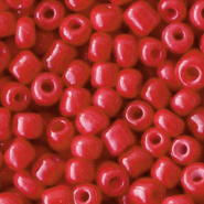 Rocailles 6/0 (4mm) Crimson red 10 gram 68265