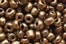 Rocailles Antiek Goud 4 mm 10 gram