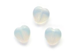 Hartvormige Maansteen DQ kraal, 10mm per stuk