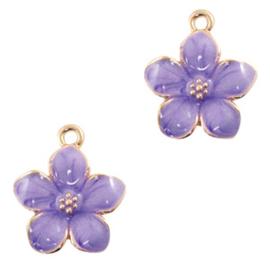 Bedel Quality flower Goud-paars per stuk