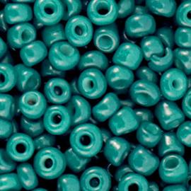 Rocailles 6/0 (4mm)  Ultra Marine Green  10 gram 71173