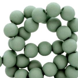 4 mm kralen van acryl Brasil green 8 gram (ca. 200 st.)  66749