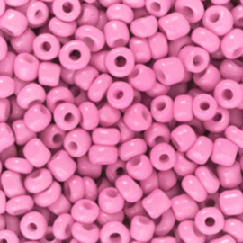 Rocailles, 3mm 8/0, Taffy Pink, 10 gram 68299