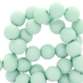 6 mm kralen van acryl Soothing Sea Blue  (12 gram) ca. 100 stuks 66756