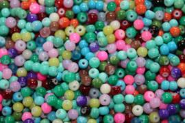 Glaskralen Summer Mix 4 mm 5 gram