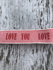 Love Lint Red 50 cm