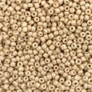 Rocailles 12/0  2mm Tan Brown   10 gram 68317