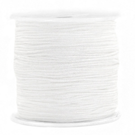 Macramé draad 0.8mm White 72701 Per meter