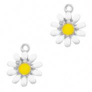 Bedel Quality flower Zilver-wit per stuk