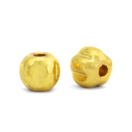 Kralen van Hematite 4 mm Gold 10 st.