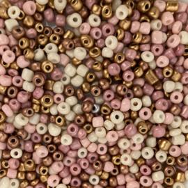 Rocailles Tuttebel mix 4 mm, 10 gram