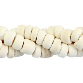 50 st Disc kokos kralen 5-6mm White (natuurlijke kleur van kokos) 54358