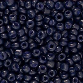 Rocailles 8/0 (3mm) Dark Blue , 10 gram 661158