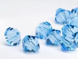 Preciosa Kristal bicone 3 mm - Sapphire 10 st.
