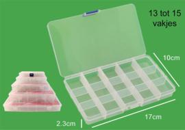Opberg box voor kraaltjes 17 x 10 cm