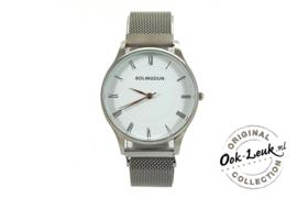 Horloge Ook Leuk zilver
