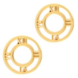 Metaal bedels DQ tussenstuk clock 12mm Goud (nikkelvrij) per stuk