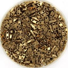 Miyuki quarter tila 5x1.2 mm - metallic dark bronze 457