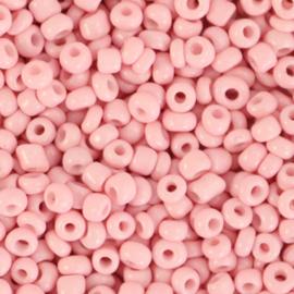 Rocailles Blush pink 3mm 8/0, 10 gram 66176