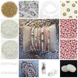 DIY Sieradenpakket Miyuki Vintage chrystal