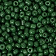 Rocailles 8/0 (3mm) Fir green, 10 gram 64698