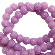 Sparkle beads 6mm Lavender Purple 10 stuks 47064