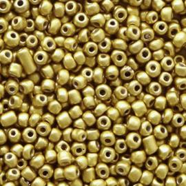 Rocailles (2mm) Metallic Antique Gold, 10 gram 68320
