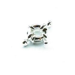 Boeislotje Zilver 12 mm