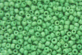 Rocailles 12/0  2mm, Groen 10 gram 0855-050