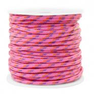 Maritiem koord Pink 2 mm per meter