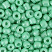 Rocailles 6/0 (4mm) Vivid Green 68254  10 gram