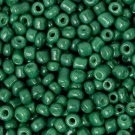 Rocailles, 3mm 8/0, Traffic Green, 10 gram 68288
