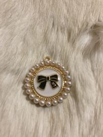 Bedels Classic pearl strik black Large