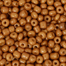 Rocailles, 3mm 8/0, Sugar almond brown 64712
