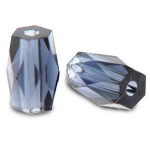 Top quality facet kralen tube Tanzanite purple 69813 10 st