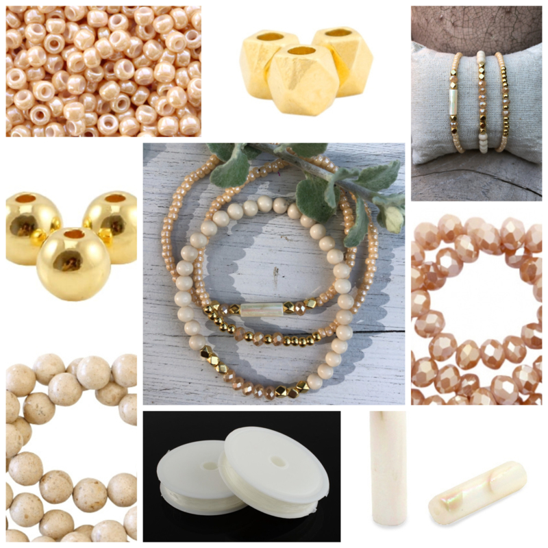 DIY Sieradenpakket Nature Gold