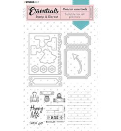 Studio Light - BASICSDC52 - Studio Light - Stamp & Die-cut - Essentials - nr.52