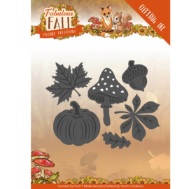 Yvonne Creations - Dies - Fabulous Fall - Autumn Leaves