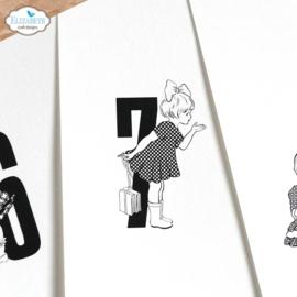Elizabeth Craft Designs -  Memorable - clearstamps (CS234)
