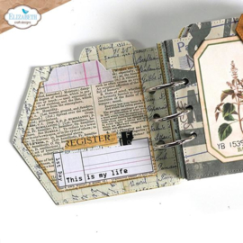 Elizabeth Craft Designs - All The Details - clearstamps (CS235)