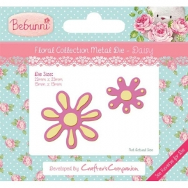 Bebunni Floral Metal Die - Daisy by Crafter's Companion