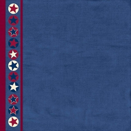 Hot Off The Press - Patriotic Star Border
