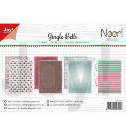 Joy!crafts - Papierset A4 - Jingle bells